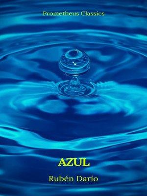 cover image of Azul (Prometheus Classics)