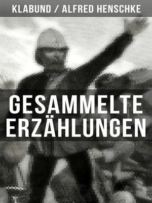 cover image of Gesammelte Erzählungen von Klabund