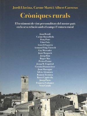 cover image of Cròniques rurals