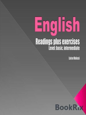 cover image of English Readings
