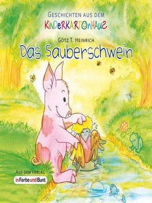 cover image of Das Sauberschwein