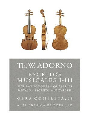 cover image of Escritos musicales I-III