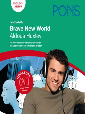 cover image of PONS Lektürehilfe--Aldous Huxley, Brave New World