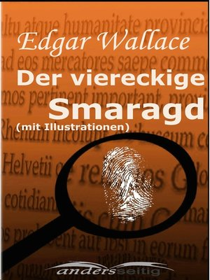 cover image of Der viereckige Smaragd (mit Illustrationen)