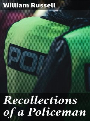 cover image of Recollections of a Policeman
