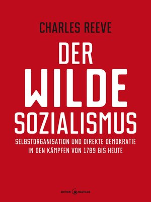 cover image of Der wilde Sozialismus
