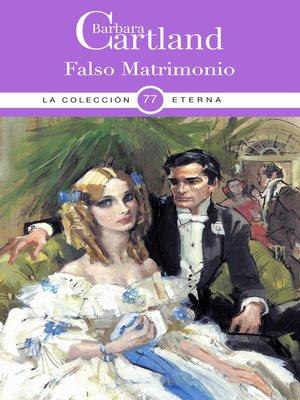 cover image of Falso Matrimonio