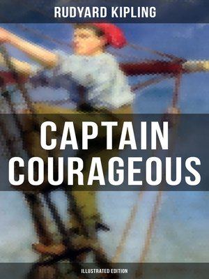 cover image of Captain Courageous (Illustrated Edition)