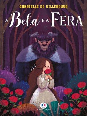 cover image of A Bela e a Fera