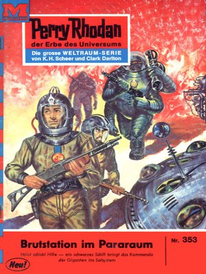 cover image of Perry Rhodan 353