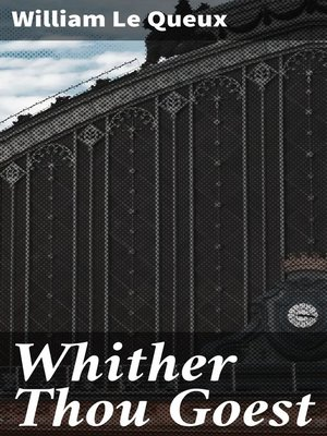 cover image of Whither Thou Goest