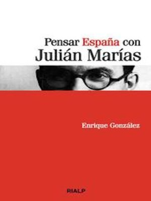 cover image of Pensar España con Julián Marías