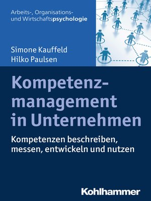 cover image of Kompetenzmanagement in Unternehmen