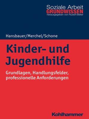 cover image of Kinder- und Jugendhilfe