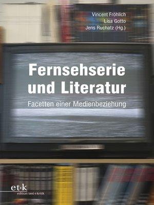 cover image of Fernsehserie und Literatur