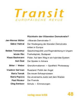 cover image of Transit 48. Europäische Revue