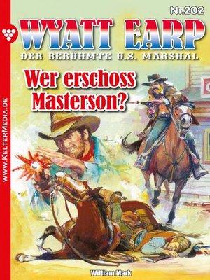 cover image of Wyatt Earp 202 – Western