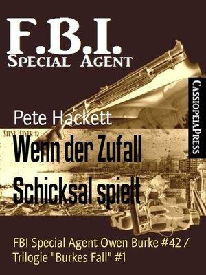 cover image of Wenn der Zufall Schicksal spielt