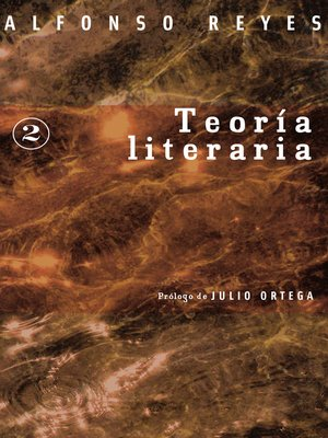 cover image of Teoría literaria