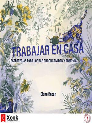 cover image of Trabajar en casa