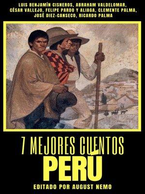 cover image of 7 mejores cuentos--Perú