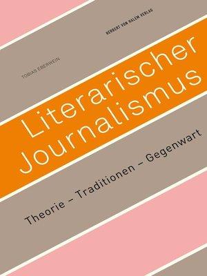 cover image of Literarischer Journalismus