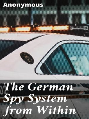 cover image of The German Spy System from Within