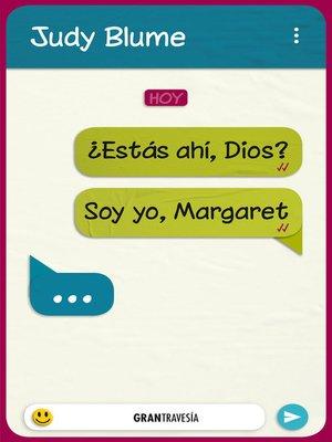 cover image of ¿Estás ahí, Dios?
