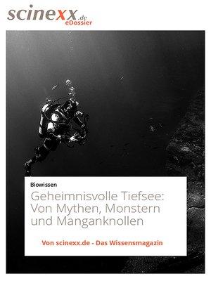 cover image of Geheimnisvolle Tiefsee