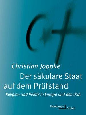 cover image of Der säkulare Staat auf dem Prüfstand