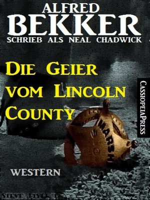cover image of Alfred Bekker schrieb als Neal Chadwick