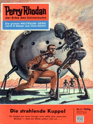 cover image of Perry Rhodan 3