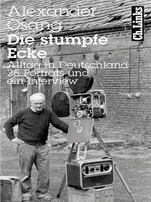 cover image of Die stumpfe Ecke