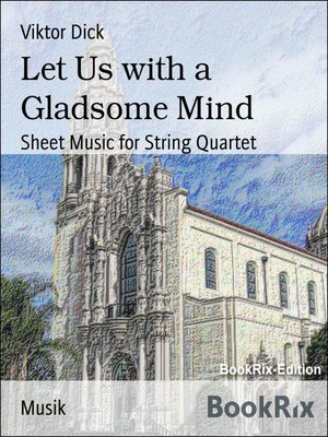 cover image of Let Us with a Gladsome Mind