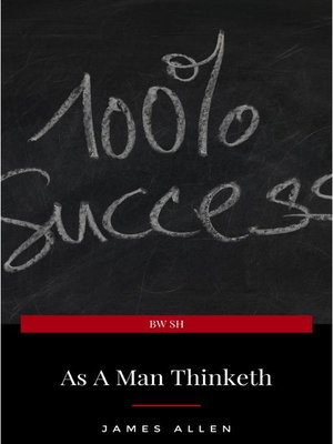 cover image of As a Man Thinketh — Original 1902 Edition