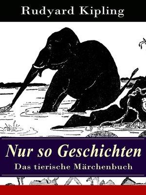 cover image of Nur so Geschichten--Das tierische Märchenbuch
