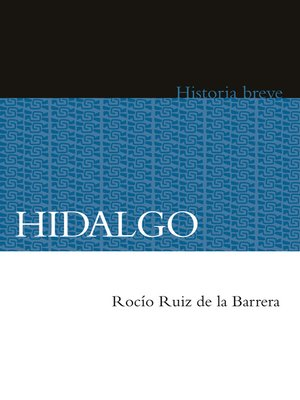 cover image of Hidalgo
