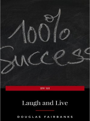 cover image of Laugh and Live