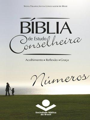 cover image of Bíblia de Estudo Conselheira--Números