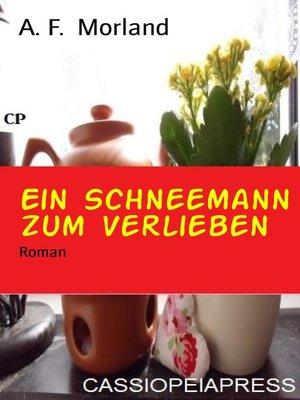 cover image of Ein Schneemann zum Verlieben