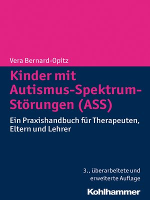 cover image of Kinder mit Autismus-Spektrum-Störungen (ASS)