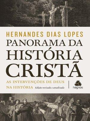 cover image of Panorama da história cristã