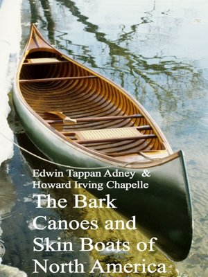 cover image of Bark Canoes and Skin Boats of North America