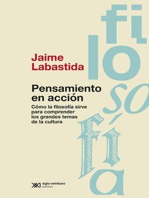 cover image of Pensamiento en acción