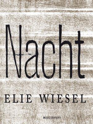 Elie Wiesel Overdrive Rakuten Overdrive Ebooks