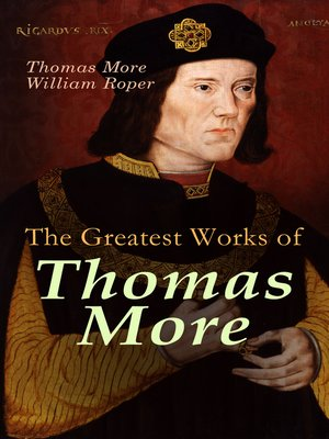 cover image of The Greatest Works of Thomas More