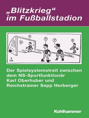 "cover image of ""Blitzkrieg"" im Fußballstadion"