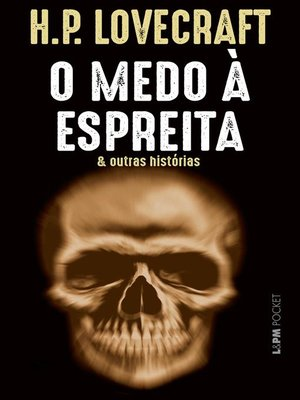 cover image of O medo à espreita e outras histórias