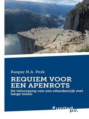 cover image of REQUIEM VOOR EEN APENROTS
