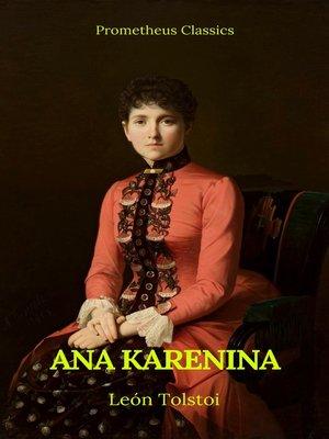 cover image of Ana Karenina (Prometheus Classics)